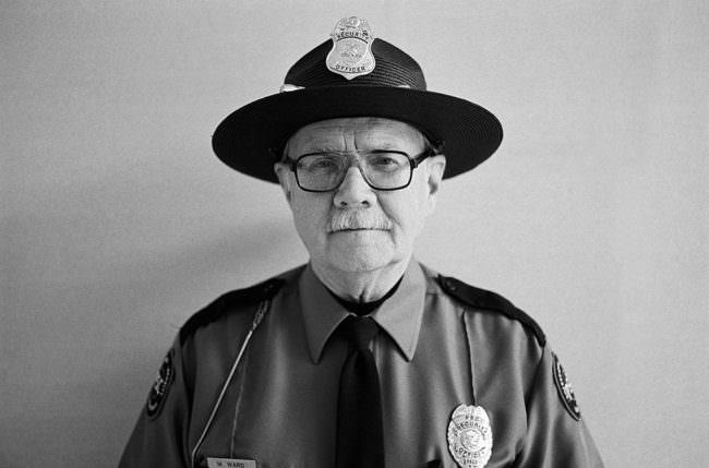 Portrait eines Polizisten