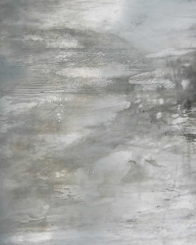 Surreales Bild mit Grautönen