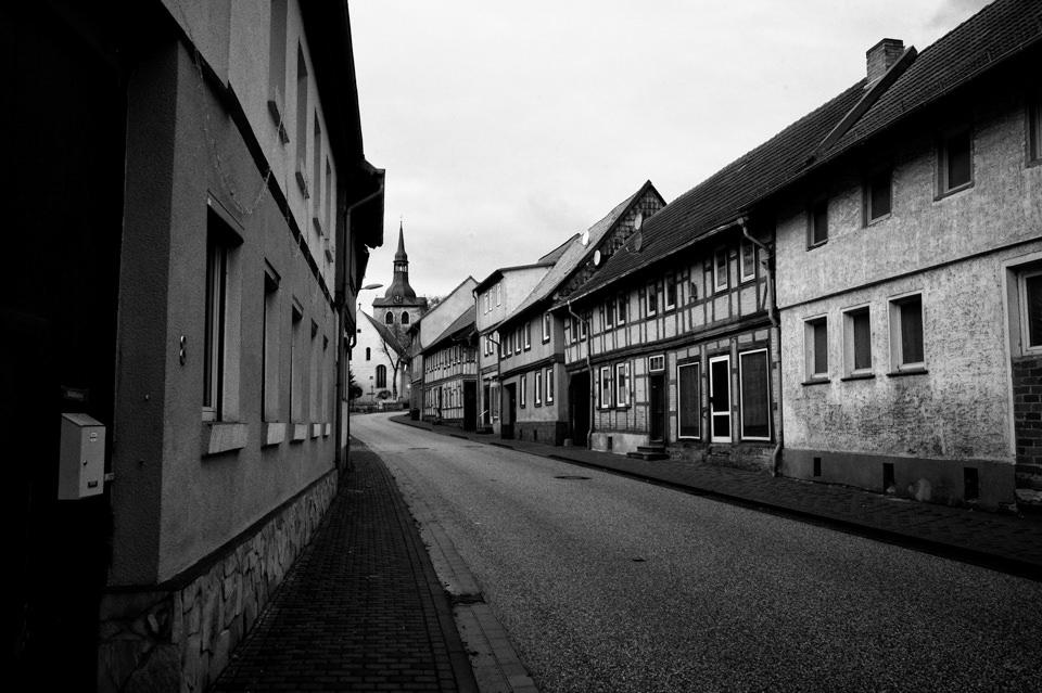 Eine leere Straße