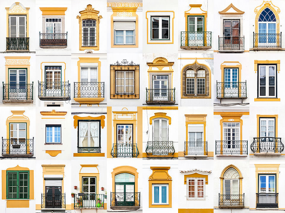 Fenstercollage