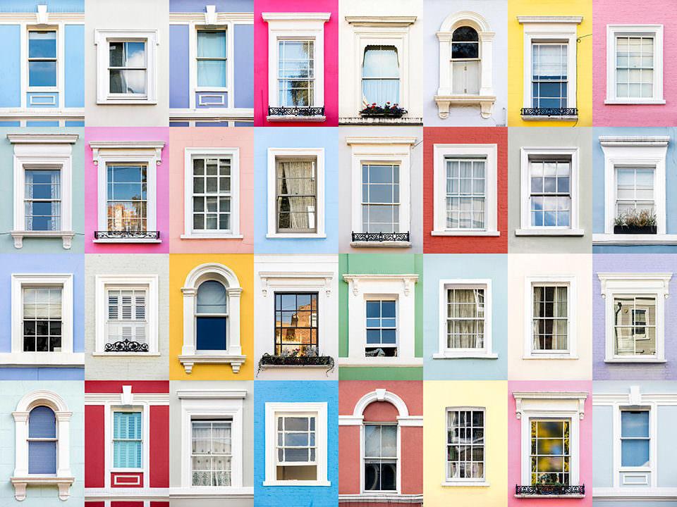 Bunte Fenster