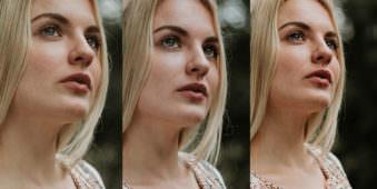 Drei Portraits