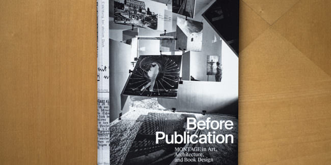Aufsicht auf ein Buchcover mit dem Titel Before Publication
