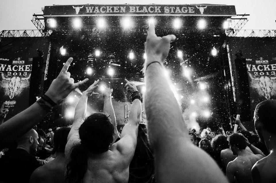 Publikum eines Konzerts