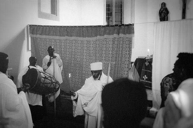 Eine Zeremonie