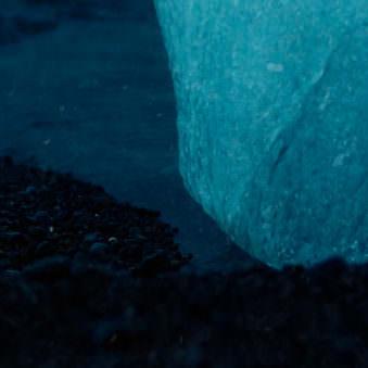 Detail eines Eisbergs