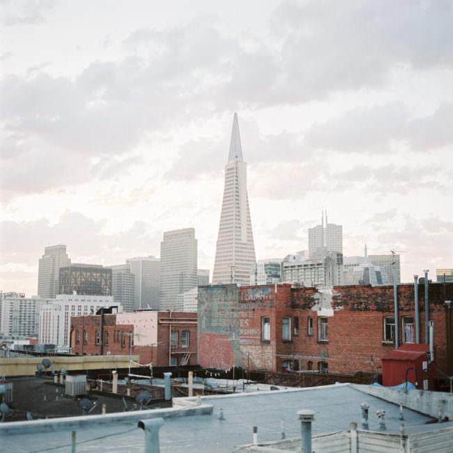 Blick auf eine Großstadt