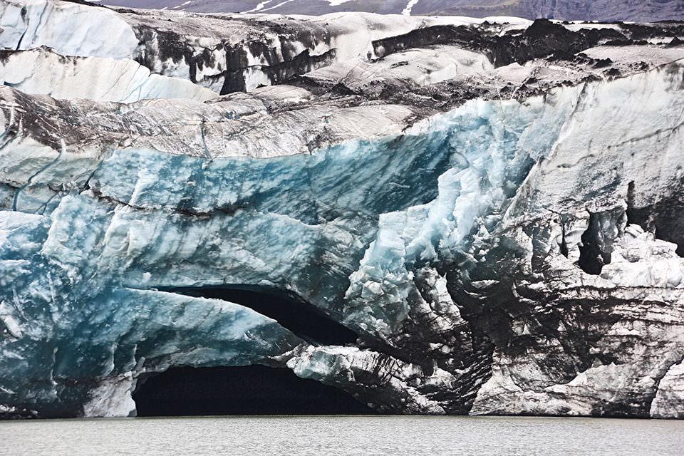 Eisberge am Meer