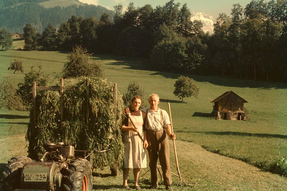 Ein Bauernpaar