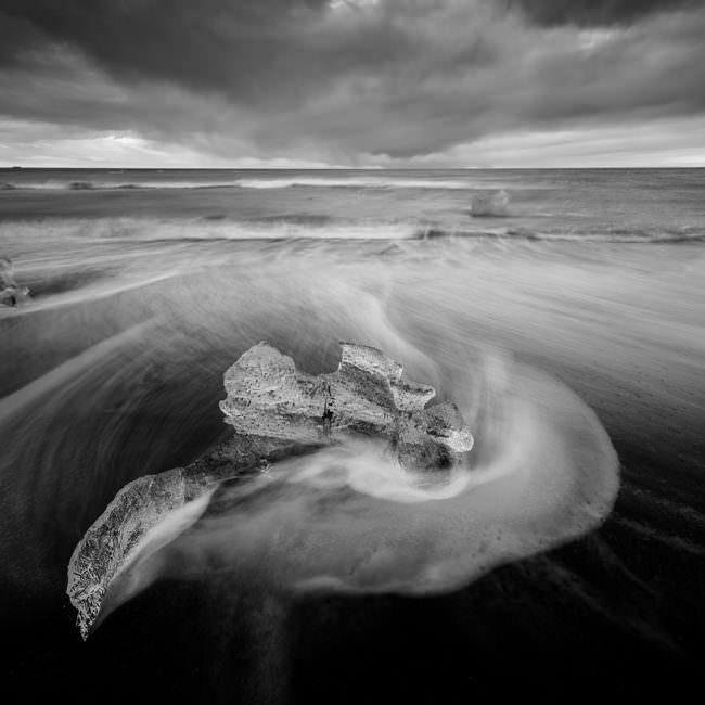 Eis im Meer