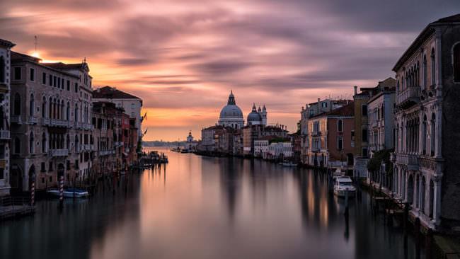 Venedig bei Sonnenaufgang