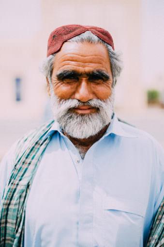 Ein Männerportrait