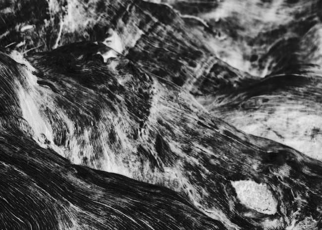 Abstrakte Schwarzweißfotografie.