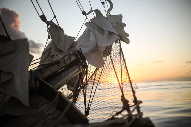 Taue und Segel