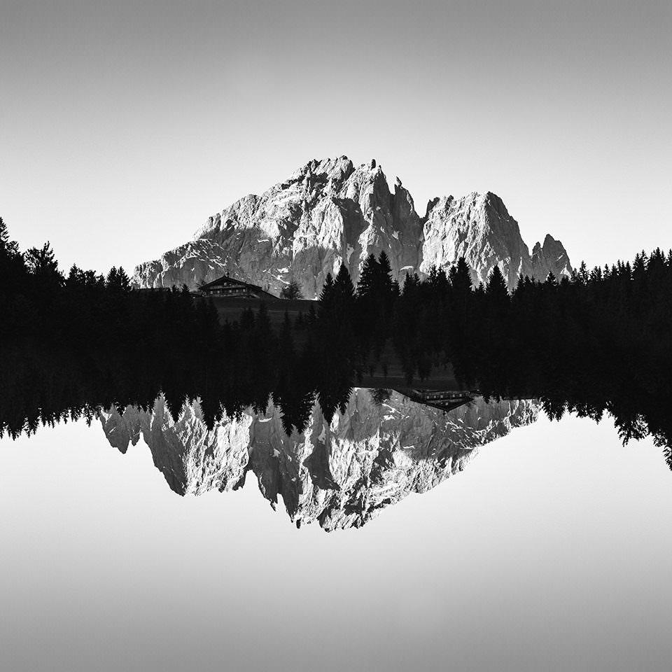Gespiegelted Gebirge