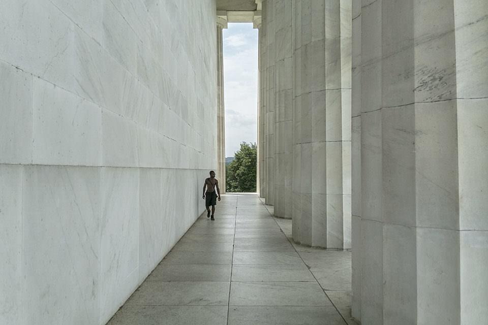 Ein Säulengang