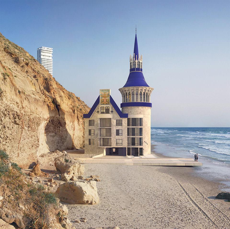 Ein Haus am Strand