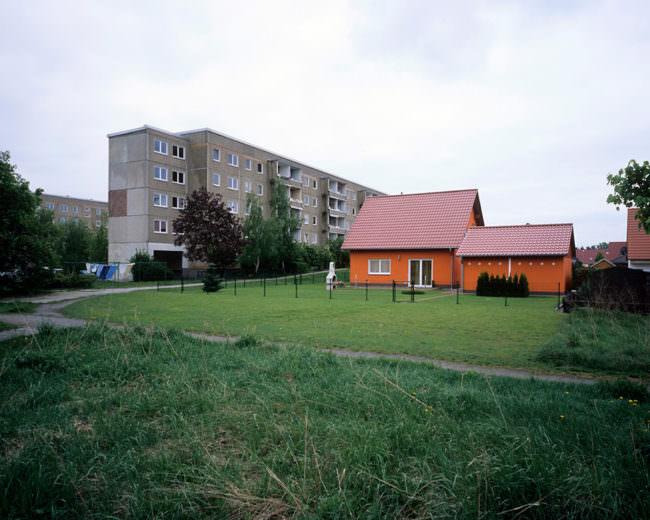 Eine Wohnsiedlung
