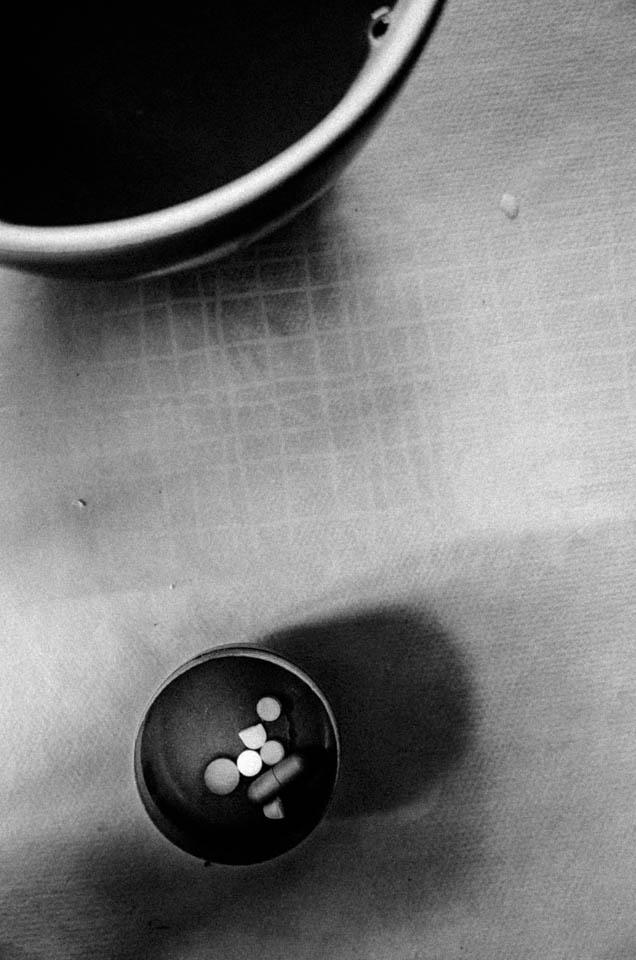 Tabletten in einer Schale
