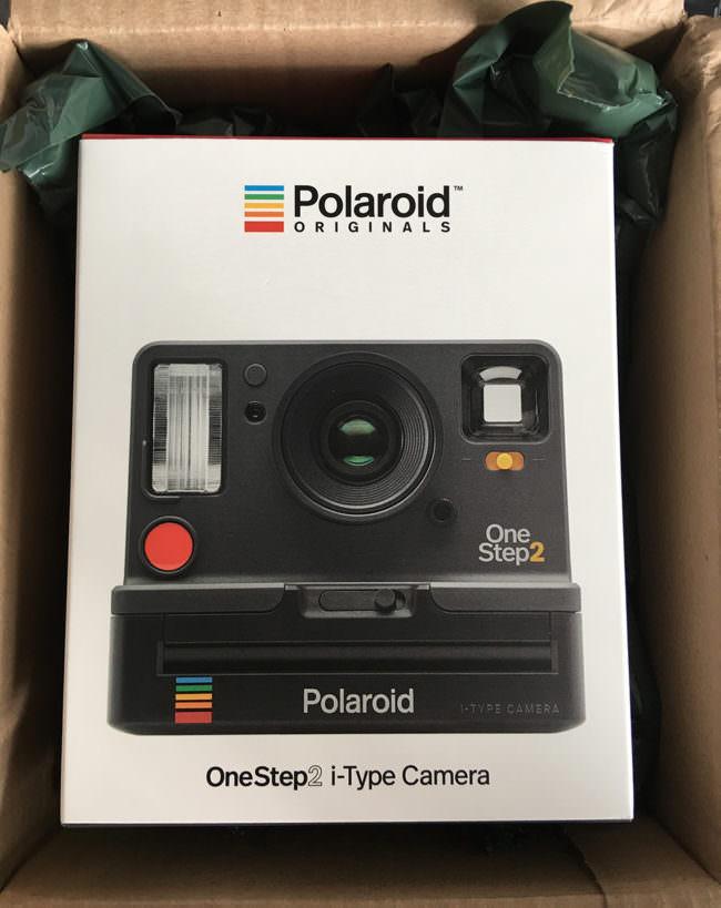Eine Kameraverpackung