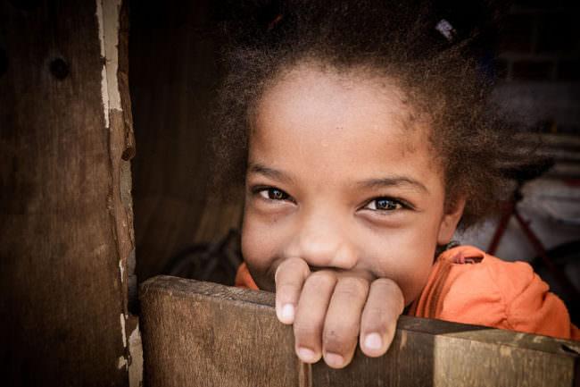 Ein Portrait eines Mädchens