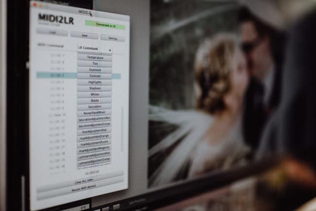 Eine Software auf einem Computerbildschirm.