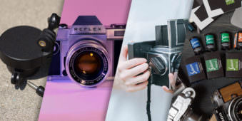 Eine Collage aus verschiedenen Crowdfunding-Produkten.