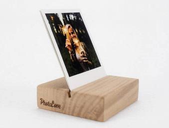 Fotohalter aus Holz