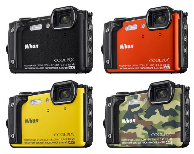 Eine Kamera in Farbvarianten