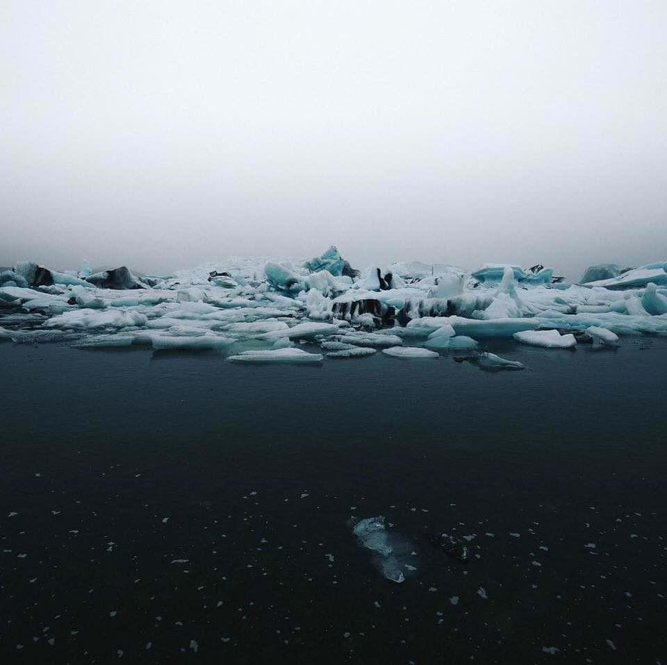 Eisschollen