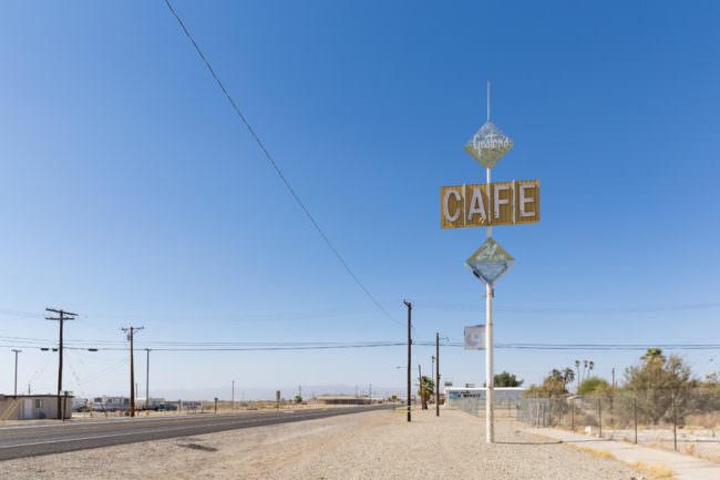 Cafe-Schild