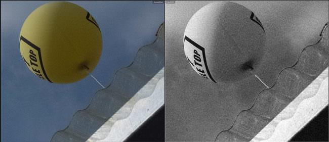 Detail eines Ballons