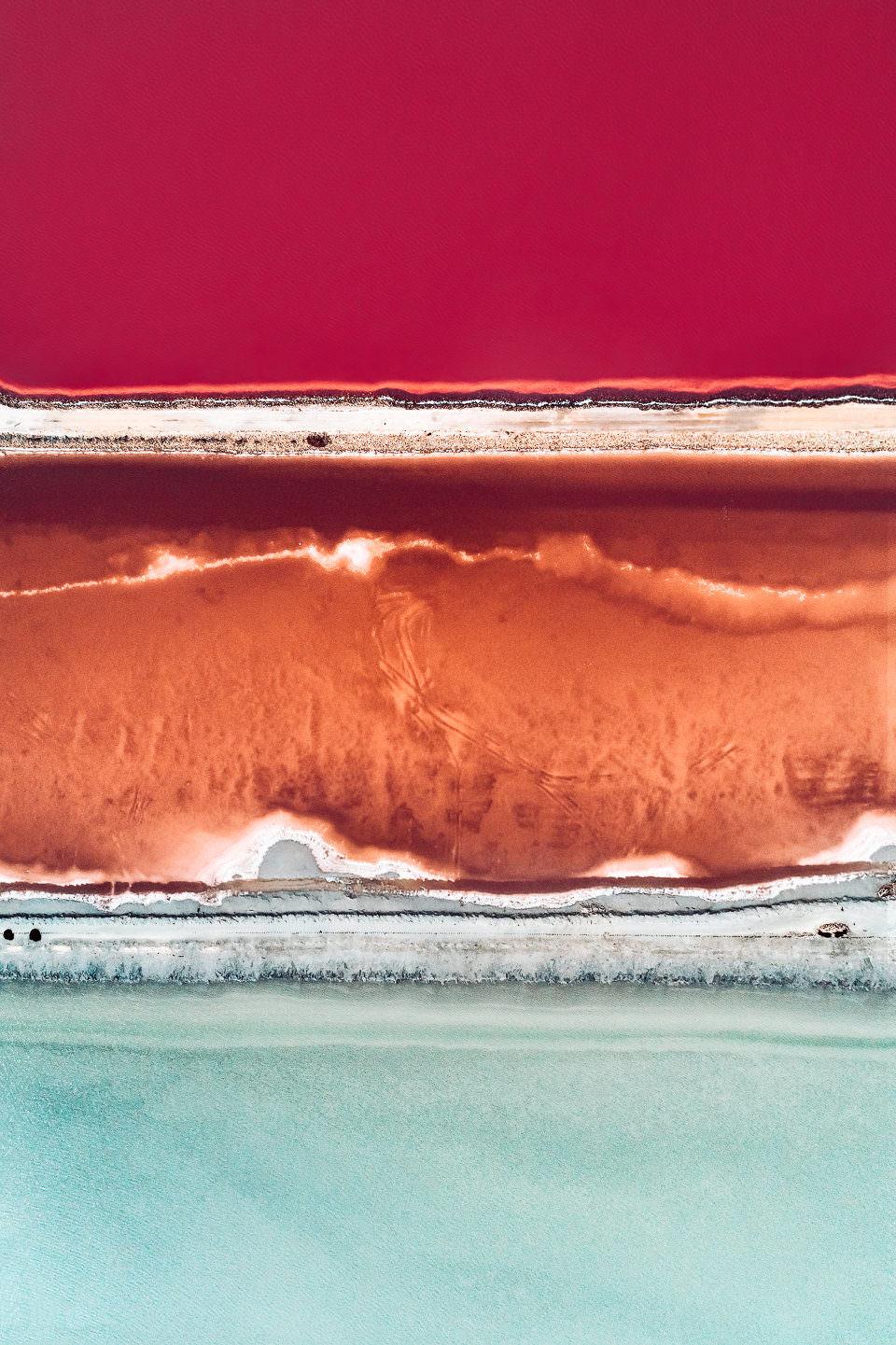 Salzgewinnung von oben