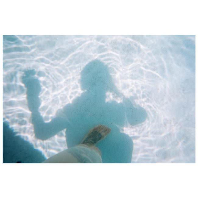 Schatten im Wasser