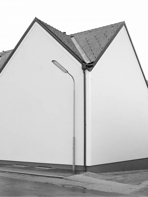 Ein Gebäude ohne Fenster