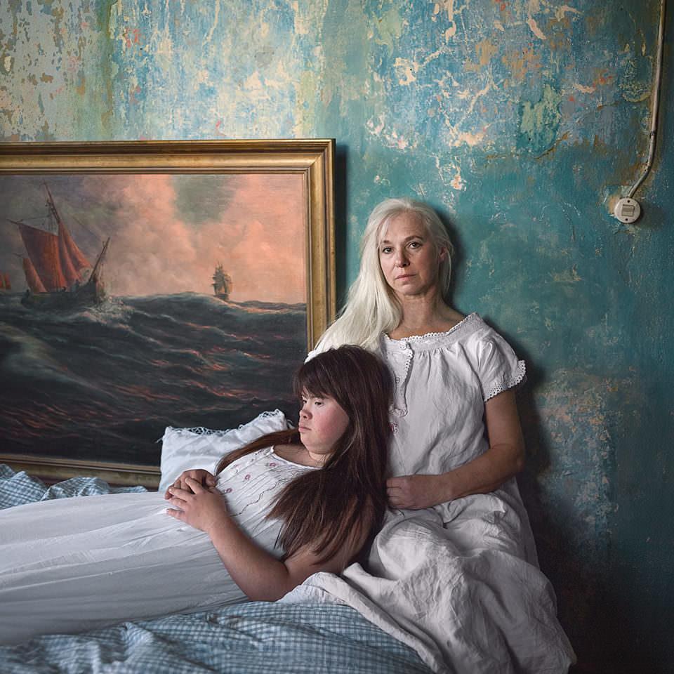 Portrait zweier Frauen