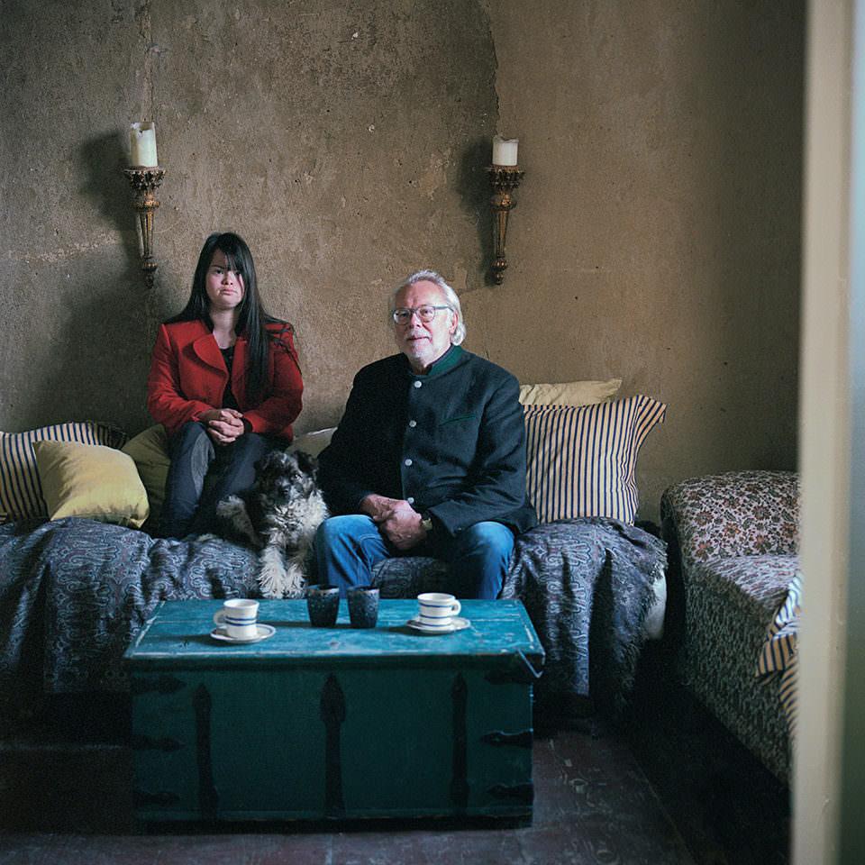Portrait zweier Menschen