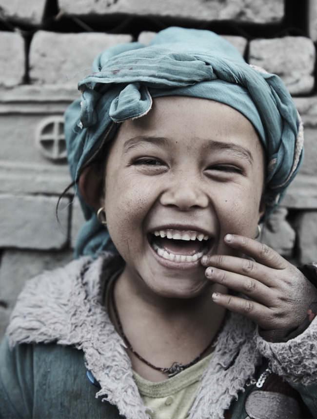 Lachendes Kind
