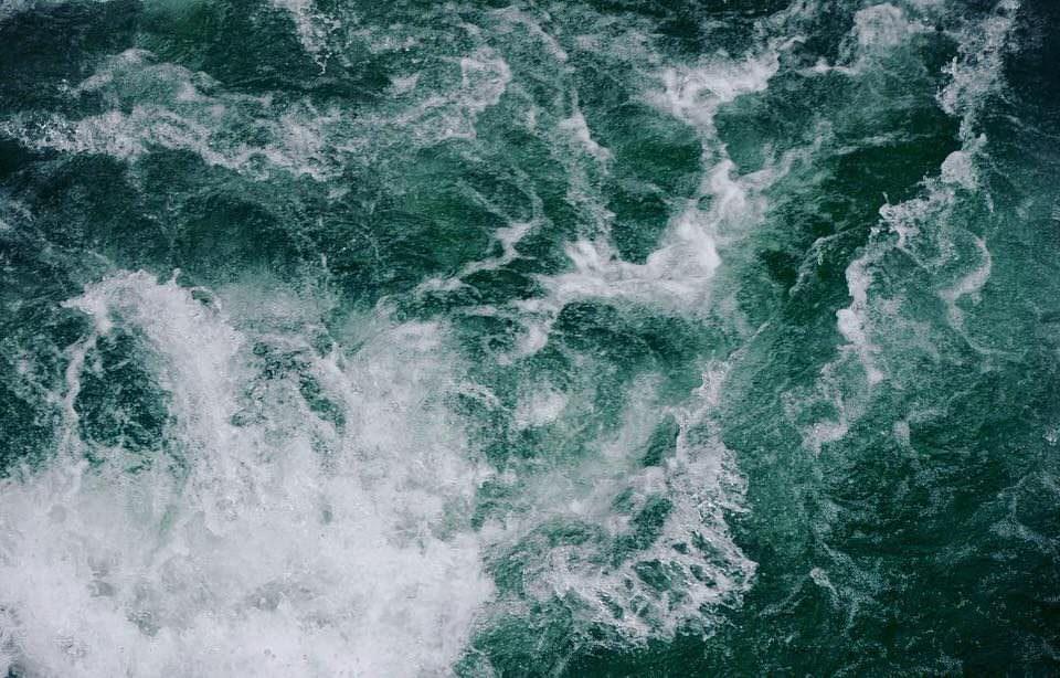 Wellen von oben
