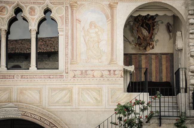 Bemalter Palast