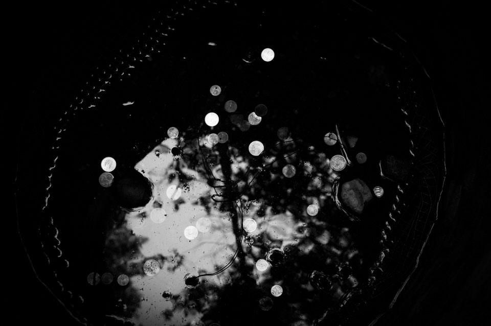 Spiegelbild im Wasser