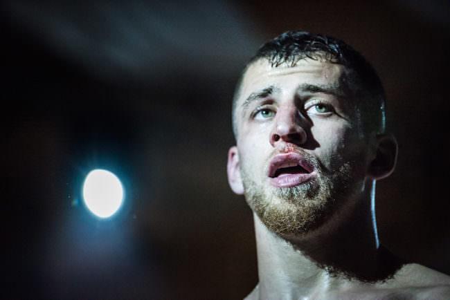 Portrait eines Kämpfers