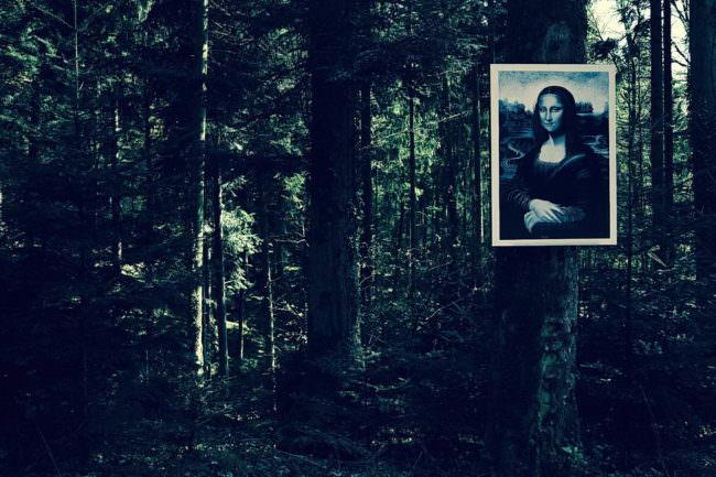 Monalisa im Wald