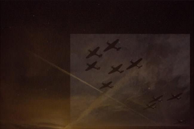 Flugzeuge mit Spiegelung