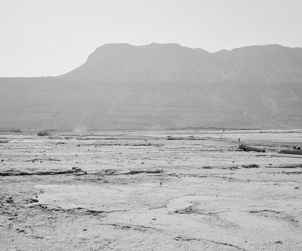 Nebelige Landschaft