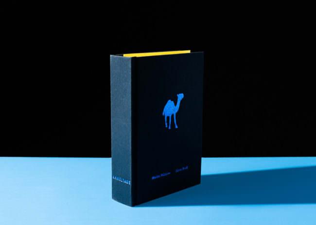 Ansicht eines Buchs mit Kamel auf dem Cover