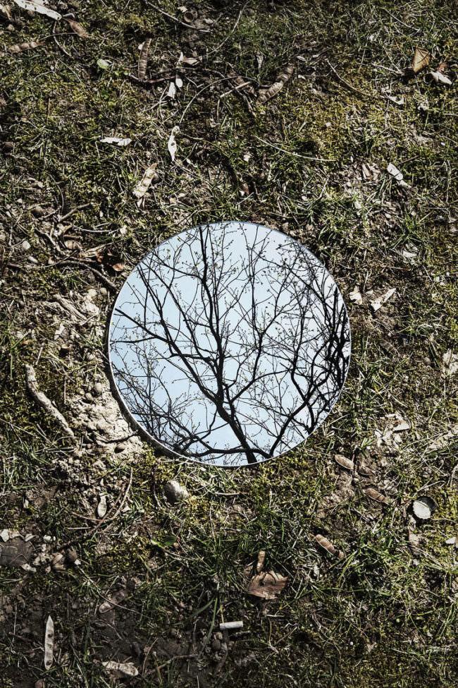 Reflexion im Spiegel