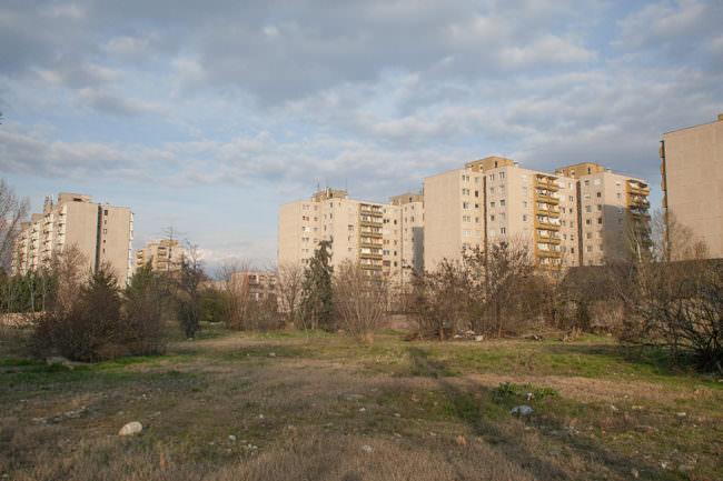 Urbane Landschaft.