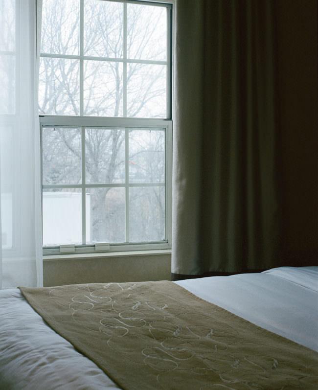 Ein leeres Bett