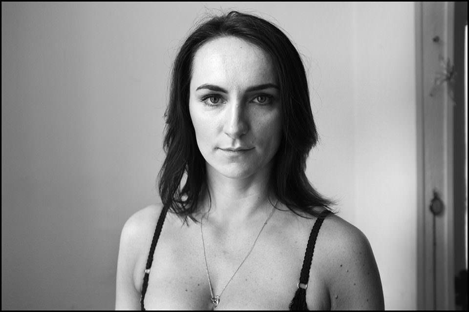 Gesicht einer Frau.